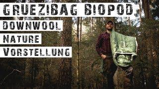 GRÜEZI-BAG - BIOPOD DOWNWOOL NATURE - Schlafsack Vorstellung - Erster Eindruck