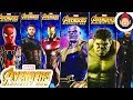 Download Video Avengers Infinity War Power FX Titan Hero Series Figures - Thanos Hulk Iron Spider Iron Man Cap