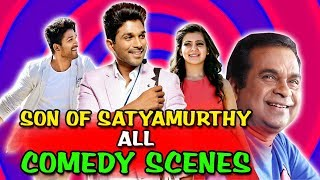 Son Of Satyamurthy All Comedy Scenes | South Indian Hindi Dubbed Best Comedy Scenes