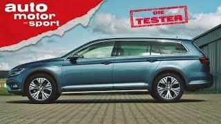 VW Passat Alltrack 2.0 TSI:  Siegerstraße oder Holzweg?- Die Tester | auto motor und sport