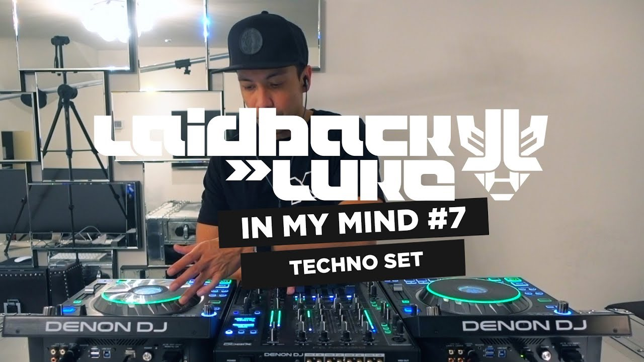 Laidback Luke - Live @ Studio, In My Mind #7 Techno-only Set 2018
