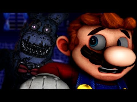 MARIO GETS TRAPPED IN AN ANIMATRONIC MAZE... | Mario in Animatronic Horror The Nightmare Begins