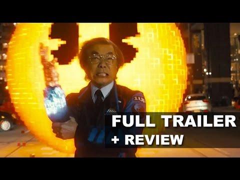 Pixels Official Trailer + Trailer Review - Adam Sandler 2015 : Beyond The Trailer