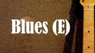 B.B. King Style Blues Backing Track (E)