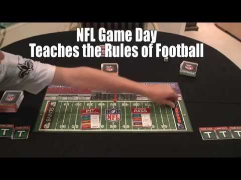 NFL GAME DAY BOARD GAME BY FREMONT DIE CONSUMER PRODUCTS