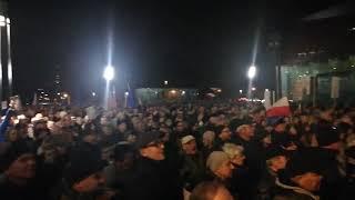 """Wrocław: """"Precz z kaczorem dyktatorem"""""""