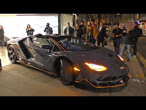 The BEAST has arrived, the $5Million Lamborghini CENTENARIO ROADSTER!