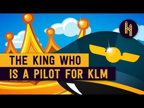 Proč nizozemský král létá jako pilot u KLM