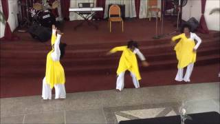 You Covered Me  Dr. R.A. Vernon & 'The Word' Church Praise Team - Praise Dance by GPC Dancers