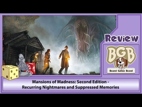 Board Game Brawl Reviews - Mansions of Madness: Second Edition – Suppressed Memories and Recurring Nightmares