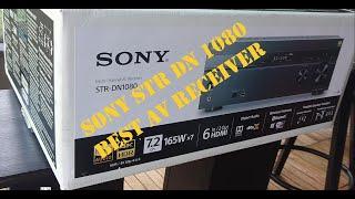 Sony STR  DN1080 (Best AV receiver ,4k,7.2,Dolby atmos) !! Best AV receiver  2021 !!