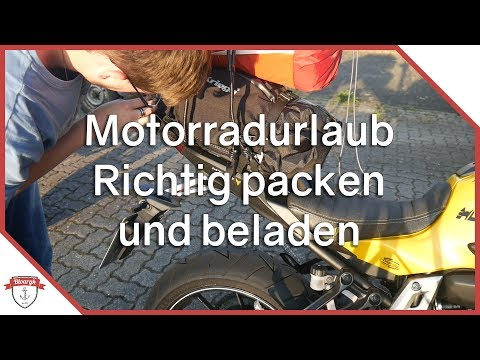 MOTORRADURLAUB: RICHTIG PACKEN UND BELADEN