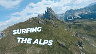 SURFING the ALPS with a 5 INCH QUAD and NO GPS | FPV Cinematic | SECEDA 2500mt.