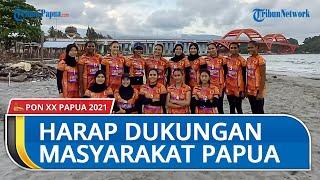 Tim Voli Indoor Papua Minta Dukungan Masyarakat Jelang PON XX