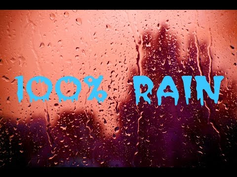 Звук дождя ⛅💦☔