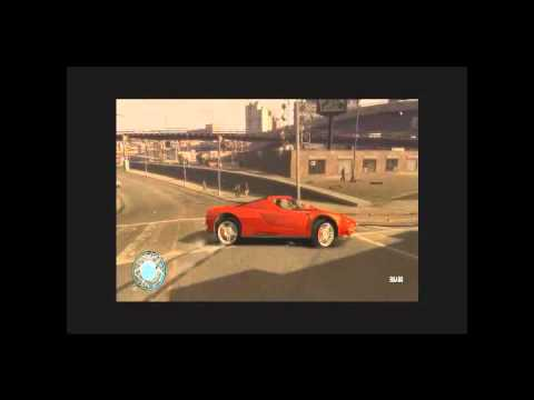 GTA IV GAMEPLAY + FERRARI ENZO + AUDI R8