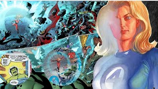 How Strong Is The Invisible Woman [ Susan Storm ] - Fantastic 4 | Marvel Comics
