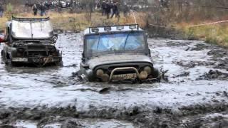 Уаз Off-Roading 4х4 Внедорожные соревнования Буймеровка 2011 (4-я часть)