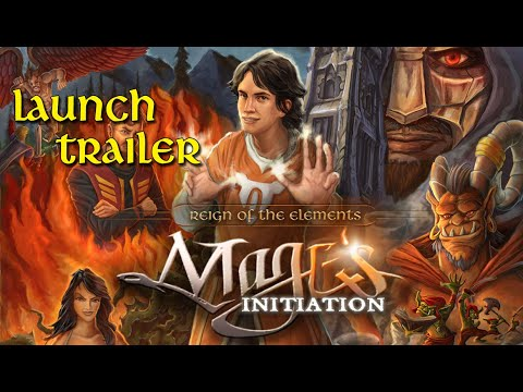 Mage's Initiation: Reign of the Elements Launch Trailer thumbnail
