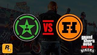 BIKERS Live - ACHIEVEMENT HUNTER VS FUNHAUS (GTA Online Official Stream)
