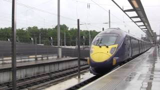 preview picture of video 'London St. Pancras International Railway Station, England - June 2014'