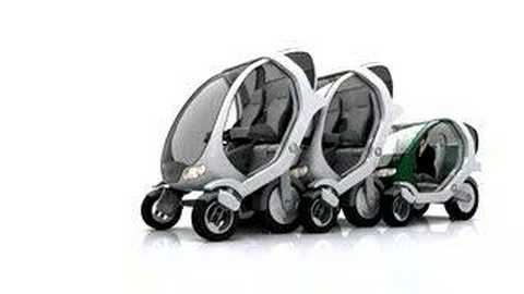 Stackable Electric City Cars