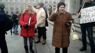 В центре Минска прошёл марш тунеядцев!!! Беларусь