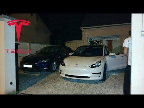 Tesla Model 3 Chez Electron Libre