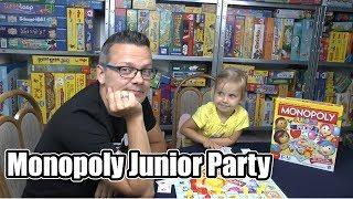 Monopoly Junior Party (Hasbro) - ab 5 Jahre - Zuschauerwunsch!
