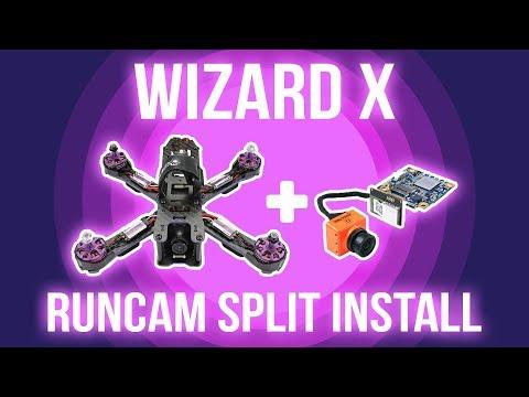 eachine-wizard-x220-runcam-split-installation--how-to-install-runcam-split--hd-fpv