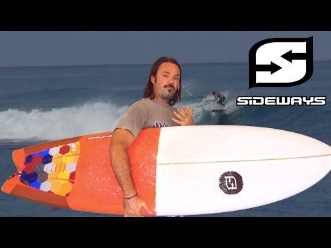 Beach Fish surfboard review : Sideways surfboards
