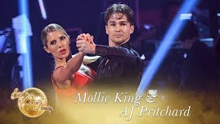 Mollie King and AJ Pritchard Tango to 'Addicted to Love' - Strictly Come Dancing 2017