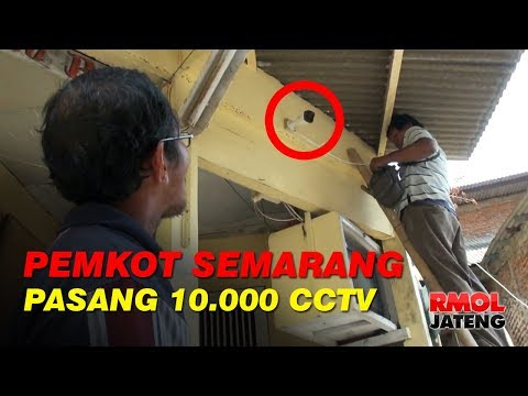 Tingkatkan Keamanan, Pemkot Semarang Pasang 10.000 CCTV