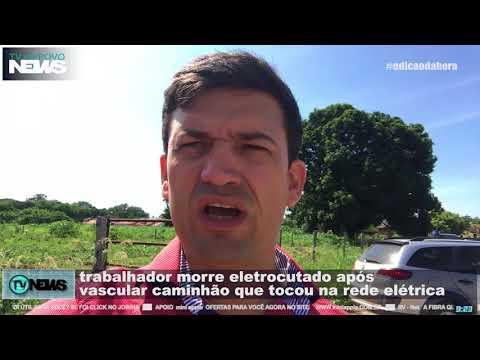 Trabalhador de Barra do Bugres - MT morre eletrocutado