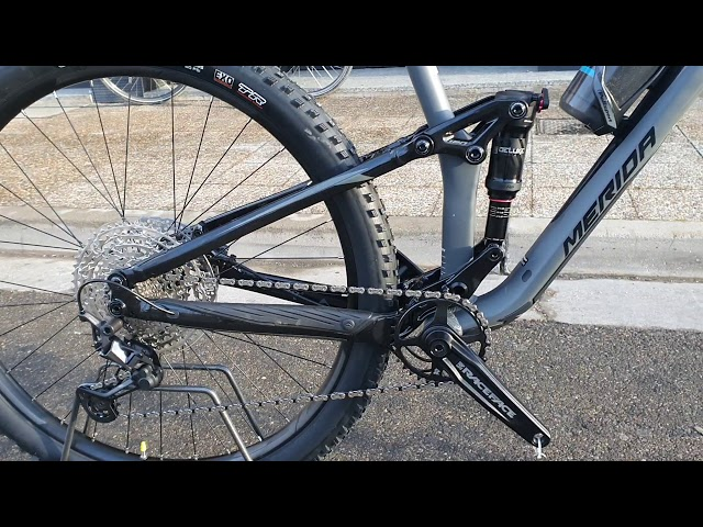 Видео Велосипед Merida One-Twenty 600 Dark Blue (Red/Silver blue)