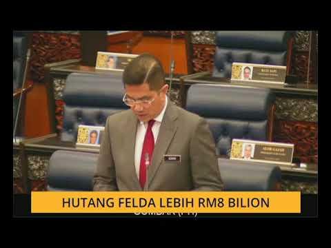 Hutang Felda lebih RM8 bilion