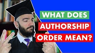 Who is first author on scientific paper