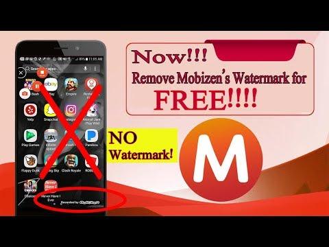 How To Remove Mobizen Watermark for FREE!!! | Urdu/Hindi | Urdu Guideline