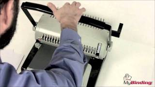 How To Operate A Comb Binding Machine