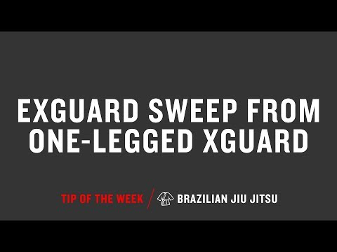 Exguard Sweep From One Legged Xguard