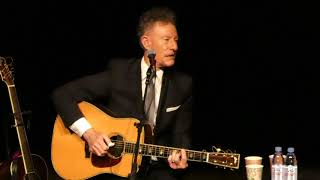 "Lyle Lovett & John Hiatt 2017-11-11 The Grand Opera House Wilmington DE ""She's No Lady"""