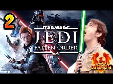LE CRAPAUD D'SES MORTS !!! -Jedi : Fallen Order- Ep.2 avec Bob Lennon