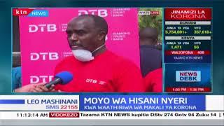 Moyo wa hisani Nyeri: Diamond Trust Bank yatoa misaada kwa waathiriwa wa makali ya Korona
