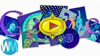 Top 10 Most Creative Google Doodle Designs - Download this Video in MP3, M4A, WEBM, MP4, 3GP