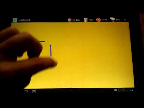 Video of Sticky Notes HD Tablet Widget.