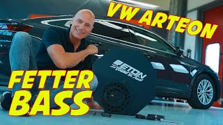 VW ARTEON | Connecting a Subwoofer on the Original-Radio | PART 2 | ARS24