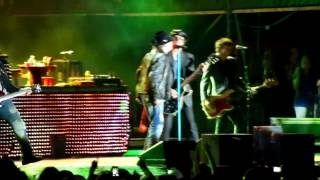 preview picture of video 'Guns N' Roses - 14 years - Son Fusteret de Palma de Mallorca - 22/07/2012'