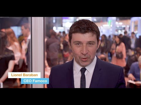 Vivatech 2019 - Interview of Lionel Baraban, CEO of Famoco - Orange Lab