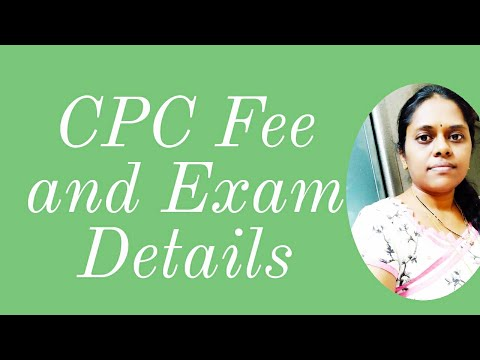 Medical Coding - CPC Exam fees and details - YouTube