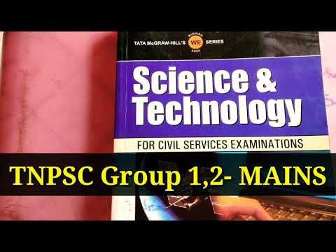 TNPSC Mains Science and Technology